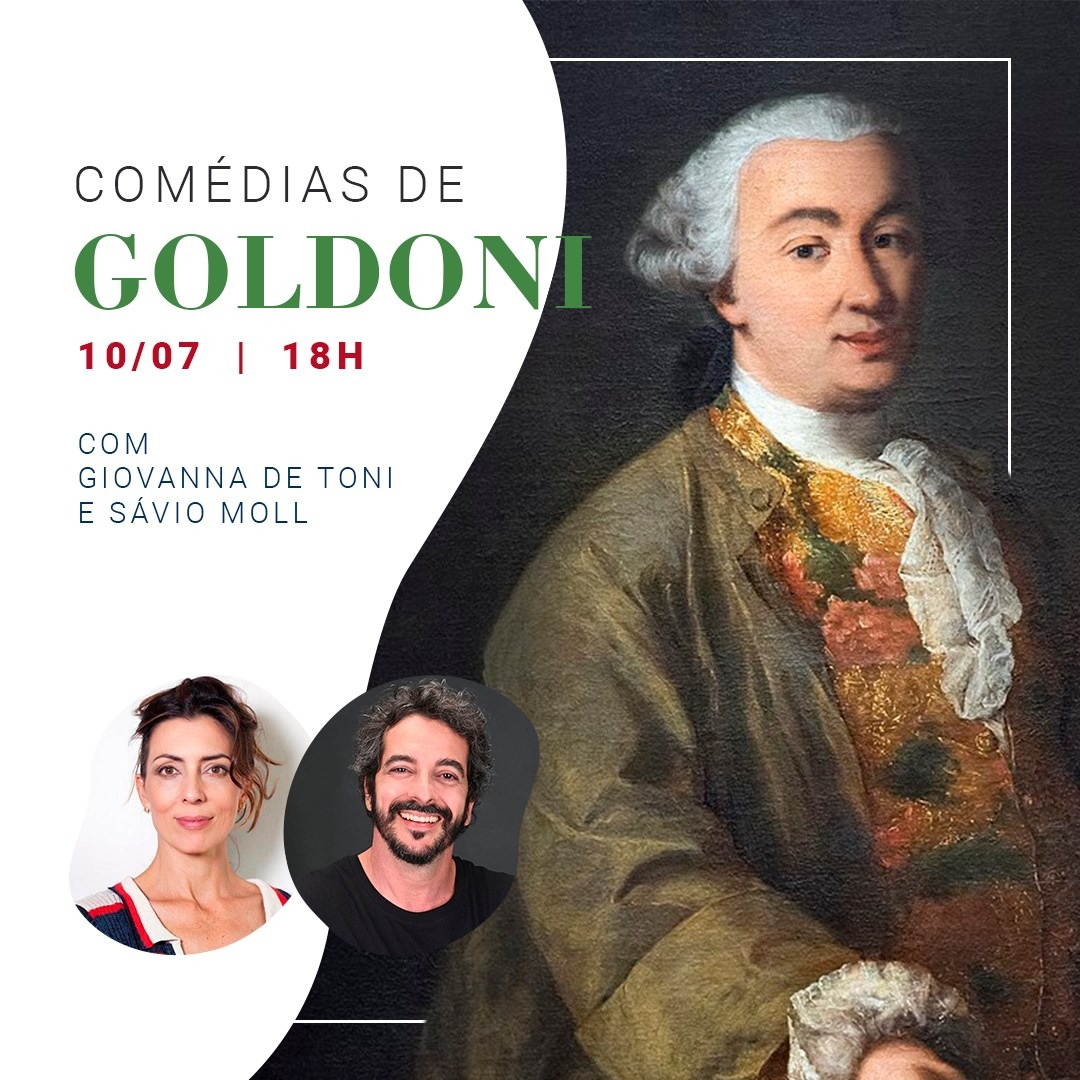 Cartaz Comdias Goldoni